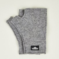 Penfield Men's Grey Noma Fingerless Gloves