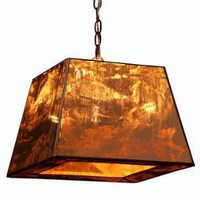 Square Shade Pendant | Pieces