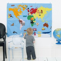 Wall World Map - Home Accessories - Home Accessories