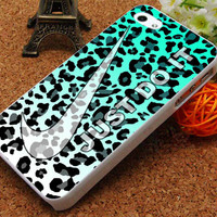 Just Do It Leopard rainbow  - iPhone 5C Case, iPhone 5/5S Case, iPhone 4/4S Case, Durable Hard Case USPSSHOP