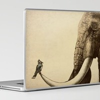 Old Friend Laptop &amp; iPad Skin by Eric Fan | Society6