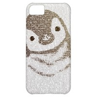 The Intellectual Pengui - typography art - iphone5 Cover For iPhone 5C
