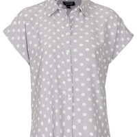 Spot Print Shirt - New In This Week - New In - Topshop USA