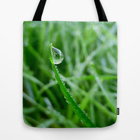 Morning Dew Tote Bag by Alice Gosling