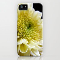 Floral Yellows iPhone & iPod Case by Alice Gosling