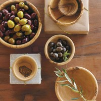 Olive Wood Bowl Set - VivaTerra