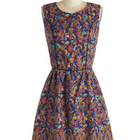 Pretty, Pretty Print-cess Dress | Mod Retro Vintage Dresses | ModCloth.com