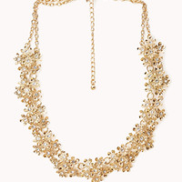 Opulent Floral Wreath Necklace