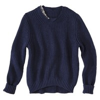 3.1 Phillip Lim for Target® Sparkle Sweater -Navy
