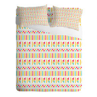 DENY Designs Home Accessories | Allyson Johnson Super Bright Aztec Sheet Set