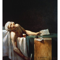 The Death Of Marat Print by Jacques Louis David at Art.com