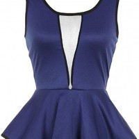 The Royal Blue Top