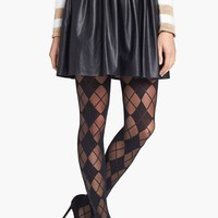 Alice + Olivia by Pretty Polly Argyle Tights | Nordstrom