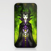 The Evil Fairy iPhone & iPod Skin by Mandie Manzano | Society6