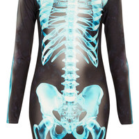 X- Ray Skeleton Bodycon Dress - Dresses - Clothing - Topshop USA