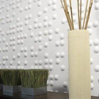 Inhabit - Braille Wall Flat Paper Tiles
