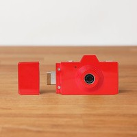 Amazon.com: Superheadz CLAP Digital Camera Powershovel Rose Red: Electronics