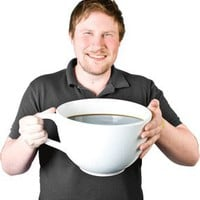 World's Largest Coffee Cup - buy at Firebox.com