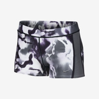"Nike 2"" Tempo Printed Women's Running Boyshorts - Anthracite"