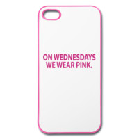 On Wednesdays We Wear Pink iPhone Case
