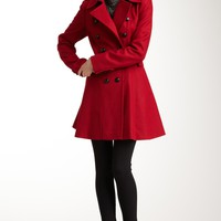HauteLook | Via Spiga Outerwear: Double Breasted Wool Blend Coat