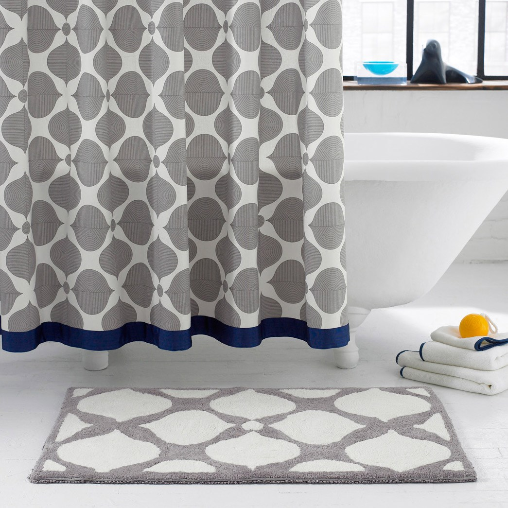 jonathan adler hollywood grey navy shower from zinc door