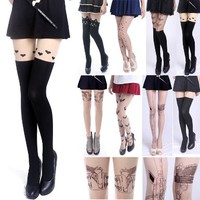 Sexy Fashion Design Pattern Pantyhose Stockings Tights - by HDE