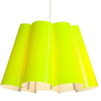 Fluorescent Lampshade - Yellow -16%