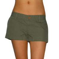 Womens Vans Island Low Rise Walkshort Walk Short - Large