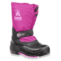 Kamik- -Girl's Snowgypsy Winter Boot - Fuchsia-Shoes-Girls Shoes-Girls Boots