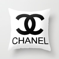 Chanel Logo II Throw Pillow by  Can Encin