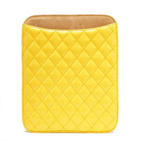 Pree Brulee - Yellow Quilted iPad Case
