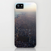 Flying into Chicago iPhone & iPod Case by Kelli Schneider