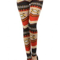Autumn Breeze Leggings - Leggings Superstore