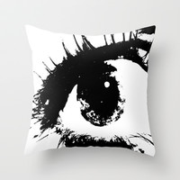 Watching You Throw Pillow by Kelli Schneider