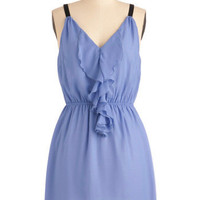 Look to the Future Dress in Periwinkle | Mod Retro Vintage Dresses | ModCloth.com