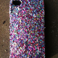 Mixed Glitter IPhone 4 4s Hard Cover Case | Luulla