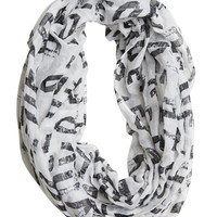 Love Letters Eternity Scarf | Shop Just Arrived at Wet Seal