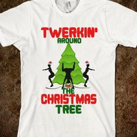 Twerkin around the Christmas Tree