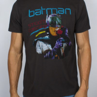Batman Smooth Operator Vintage Inspired Solid Tee - Men's Tops - Short Sleeve - Junk Food Clothing