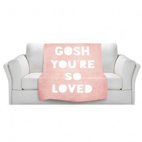 Artistic Velveteen Throw Blanket | Rachel Burbee | Loved |