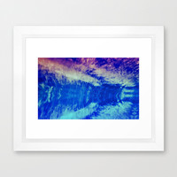 SKY - SERIOUS CIRRUS Framed Art Print by catspaws