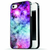 Ankit - Blue Pink Galaxy iPhone 4/4S case