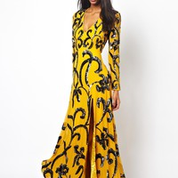 Virgos Lounge Tate Embellished Maxi Dress