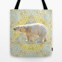 Polar Tote Bag by Lisa Argyropoulos