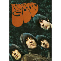 The Beatles Rubber Soul 3-D Lenticular Music Poster Print - 18.5x26.5