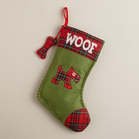 Woof Pet Stocking