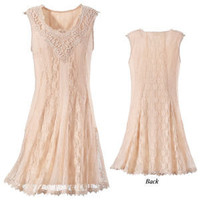 Aime Lace Dress - New Age & Spiritual Gifts at Pyramid Collection