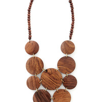 Disc-y Business Necklace | Mod Retro Vintage Necklaces | ModCloth.com