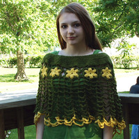 Madelief Poncho by staceyLynnCreates on Etsy